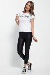 Selfie Beyaz Bayan T Shirt