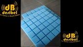 Desibel Akustik Kare Sünger Mavi (Vicoustic) 50mm 50x50cm