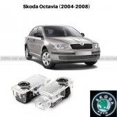 Skoda Octavia  Kapı Altı Led Logo 2004-2008 (MTM24-83)