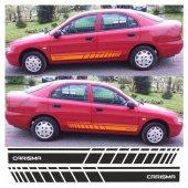 Mitsubishi Carisma Yan Şerit Oto Sticker