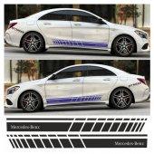 Mercedes Benz Yan Şerit Oto Sticker