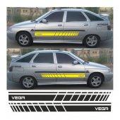 Lada Vega Hb Yan Şerit Oto Sticker