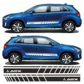 Mitsubishi Asx Yan Şerit Oto Sticker