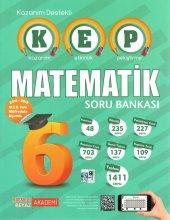 Kırmızı Beyaz 6. Sınıf KEP Kazanım Destekli Matematik Soru Bankası