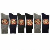 En Sıcak Şardonlu Akrilik Termal Erkek Çorabı 6 Se...