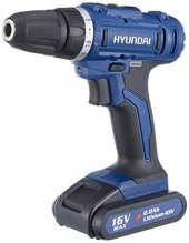Hyundai HPA1620 Akülü Vidalama Çift Bataryalı Çantalı-2