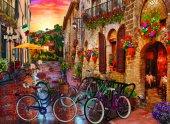Puzzle 1000 Parça Toscana Keyfi Biking İn Tuscany