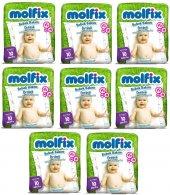 Molfix Bebek Bakım Alt Açma Örtüsü 8 Li Set 80...