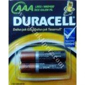 Duracell (İnce) Kalem Pil Aaa