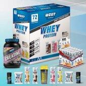 Whey Protein Tozu 72 Şase Bcaa Plus 36 Şase Kreatin 600 Gr