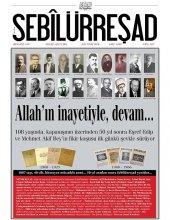 Sebilürreşad Dergisi Sayı 1008 Ağustos 2016