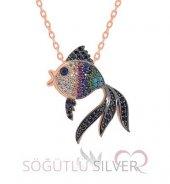 renkli balık kolye