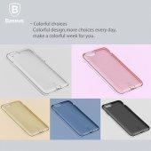 Baseus (With-Pluggy) Simple serisi Kılıf iPhone 7 Plus / 8 Plus Şeffaf-2