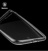 Baseus (With-Pluggy) Simple serisi Kılıf iPhone 7 Plus / 8 Plus Şeffaf-3