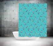 Banyo Duş Perdesi Çift Kanat 2x100x200