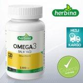 Herbina Omega 3 Balık Yağı 120 Softjel x 1000 mg
