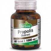Herbina Propolis Ekstresi 1000 Mg 60 Tablet