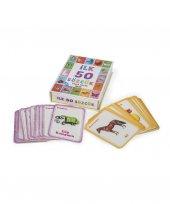 bebek ilk 50 sözcük eğitim kartları bakarak öğrenme uno hafıza