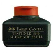 FOSFORLU KALEM MÜREKKEBİ TURUNCU 154915 / FABER CASTELL TEXTLİNER
