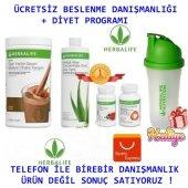 Herbalife Set (Shake + Aloe Vera + Çay + Thermo) Herbalife Diyet