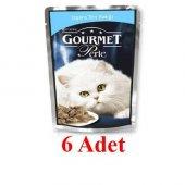 Gourmet Perle Izgara Ton Balıklı Kedi Konserve Mama 85Gr x 6 Adet