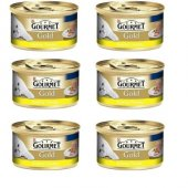 Gourmet Gold Kıyılmış Tavuklu Kedi Konservesi 85 Gr X 6 Adet