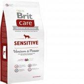 Brit Care Sensitive Venison Potato 3 Kg Geyikli...