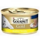Kediler İçin Gourmet Gold Tavuk Etli Konserve...