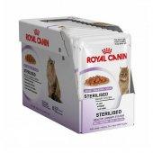 Royal Canin Sterilised Jelly Kısır Kedi Pouch Yaş Mama 85 Gr X 12 Adet