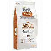 Kuzu Etli Yetişkin Köpekler İçin Özel Brit Care...