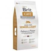 Brit Care Tahılsız Light Somonlu Yaşlı Köpek...