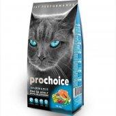 Yetişkin Kediler İçin Prochoice Somonlu Mama 15...