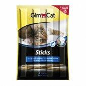 Gimcat Sticks Balıklı Kedi Çubuk Ödülü 4lü Parça