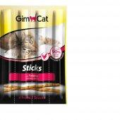 Gimcat Sticks Tavuklu Kedi Çubuk Ödülü 4lü...