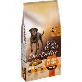 Pro Plan Duo Delice Biftekli Yetişkin Köpek...