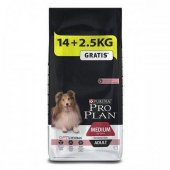 Seçici Köpekler İçin Somonlu Yetişkin Köpek Maması 16,5kg Proplan
