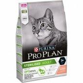 Pro Plan Sterilised Somonlu Kedi Maması 3 Kg