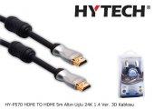 Hytech Hy P570 Hdmı To Hdmı 5m Altın Uçlu 24k...