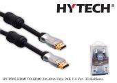 Hytech Hy P565 Hdmı To Hdmı 3m Altın Uçlu 24k...