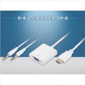 Hdmı To Vga+audıo Çevirici Hadron Hd 4105