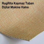 Elenist Mavi Turuncu Dijital Baskı Halı-3