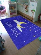 Elenist Kişiye Özel Çocuk Halısı Bulut Desenli Genç Odası Halısı