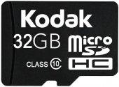 Kodak Extra 32gb Micro Sd Hafıza Kartı Ve Adaptör Sdhc Class 10