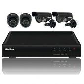 Multitek Dvr Kit 5004 4 Kanal Güvenlik Kamerası