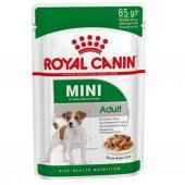 Royal Canin Mini Adult Soslu Köpek Konservesi 85 Gr