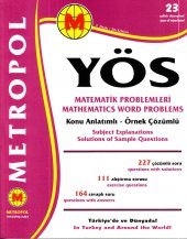 Metropol Yayınları Yös Matematik Problemleri Konu
