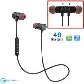 Sport Mıknatıslı Mikrofonlu Kablosuz Bluetooth Kulaklık 4.1