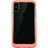 LAUT Fluro iPhone X Şeffaf Pembe Kılıf-3