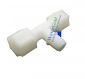 Su Arıtma Cihazı T Bağlantı Parçası 1 4 İnç Npt X 10 Mm Quick