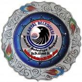 Oğuz Çini 30cm Logolu Çini Tabak